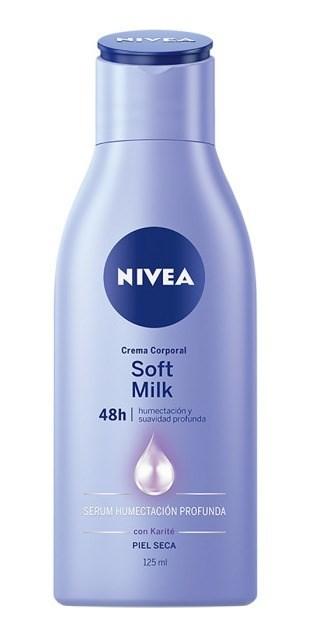 Nivea Crema Corporal Soft Milk Piel Seca X 125 Ml