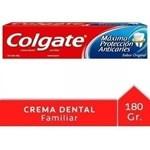 Crema Dental Colgate Máxima Protección Anticaries 180g #1