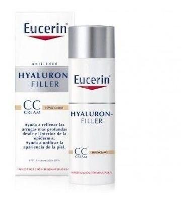 Eucerin Hyaluron Filler Crema Anti-arrugas X50ml Cc Cr.light
