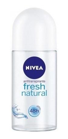 Nivea Desodorante Roll On Fresh Natural X 50 Ml