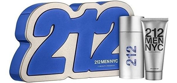212 Men Nyc Edt X 100ml + Shower Gel - Perfume Importado