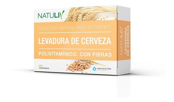 Natuliv Levadura De Cerveza 60 Comprimidos