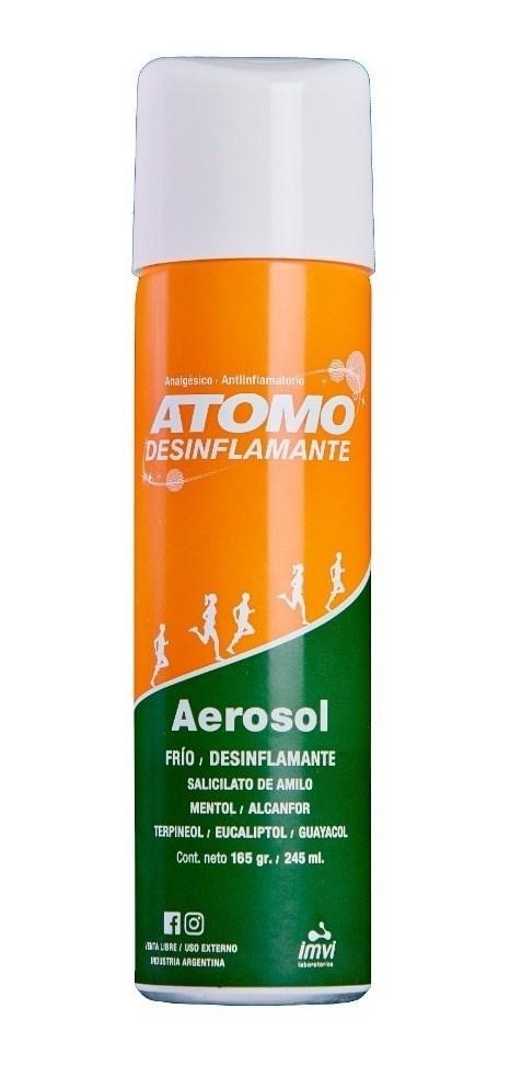 Atomo Desinflamante Aerosol Frio Desinflamente 245ml