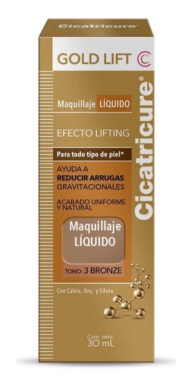 Cicatricure Gold Lift Tono 3 Bronze X 30ml