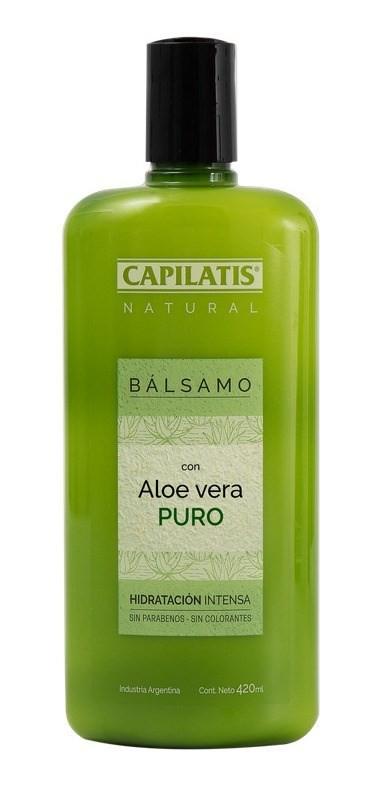 Capilatis Bálsamo Aloe Vera Orgánico X 420 Ml
