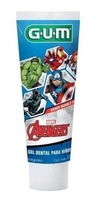 Crema Dental Infantil Gum Avengers X 100 Gr