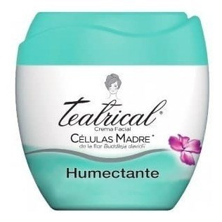 Teatrical Crema Humectante Facial X 200g