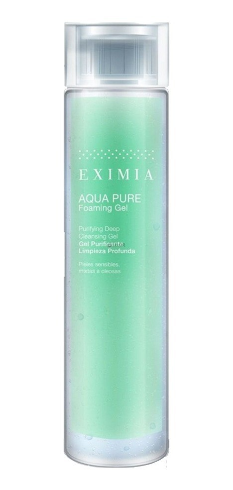 Eximia Aqua Pure Gel De Limpieza Profunda Foaming Gel 200ml  #1