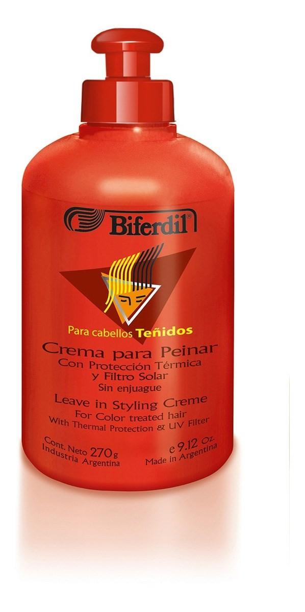 Biferdil Crema Para Peinar Lacios + Definidos X 270g