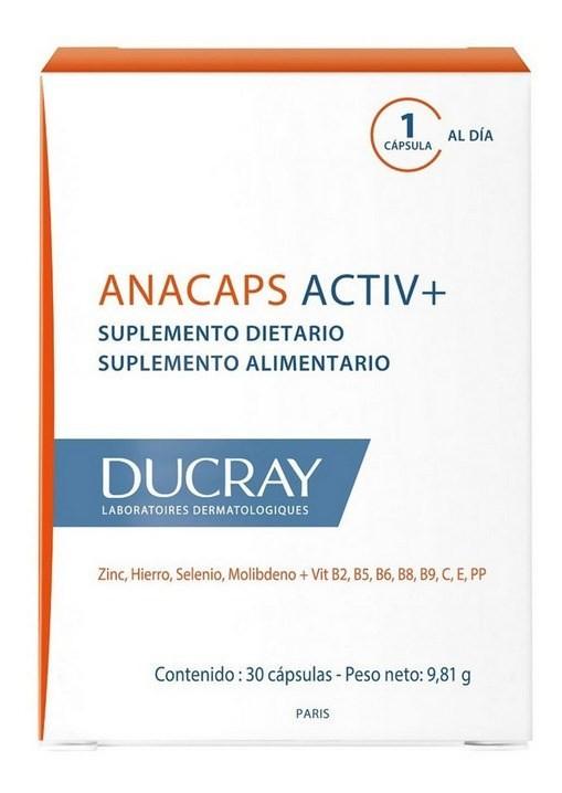 Ducray Anacaps Activ X 30