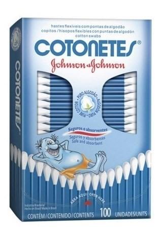 Johnson's Baby Hisopos Flexibles Cotonetes 100 Unidades