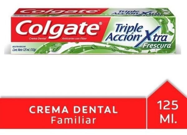 Crema Dental Colgate Triple Acción Extra Frescura 125ml