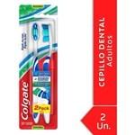 Cepillo Dental Colgate Triple Acción Medio 2 Unidades #1