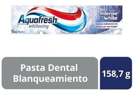 Crema Dental Aquafresh Intense White X 158 Gr