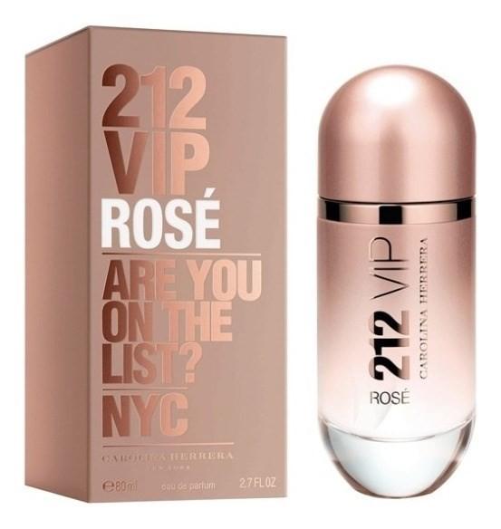 Perfume 212 Vip Rosé Mujer Edp 80ml