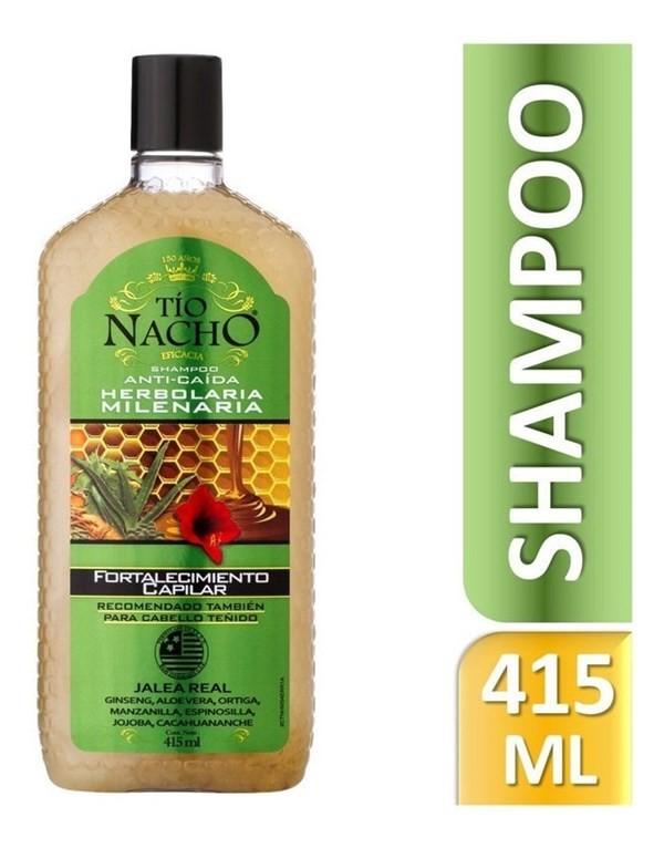 Tio Nacho Shampoo Herbolaria Milenaria 415 Ml