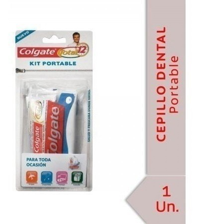 Cepillo Dental Colgate Kit Portable 30g