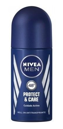 Nivea Desodorante Roll On Protect & Care X 50 Ml