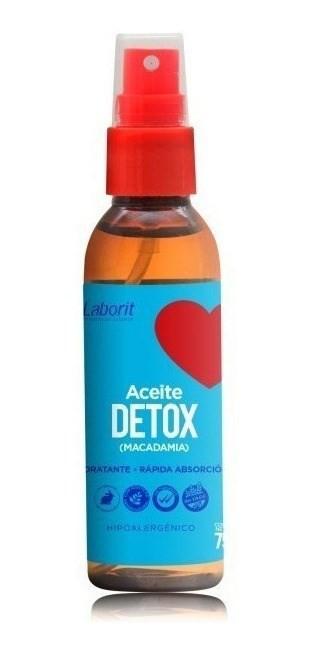 Laborit Aceite Detox Macadamia Spray Antioxidante 75ml 2x1