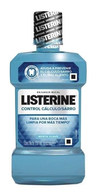 Listerine Listerine® Anti-sarro Zero Alcohol X 250 Ml.