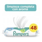Pampers Toallitas Limpiadoras Húmedas Fresh Clean X 48 Un #1