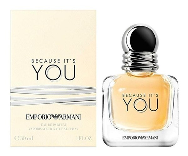 Perfume Mujer Because It's You Emporio Armani Edt 30ml