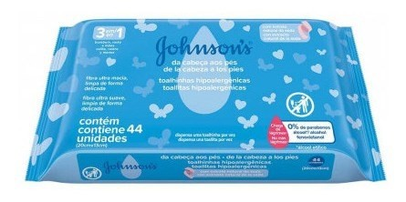 Johnson's Toallitas Hipoalergénicas De La Cabeza A Los Pies  #1