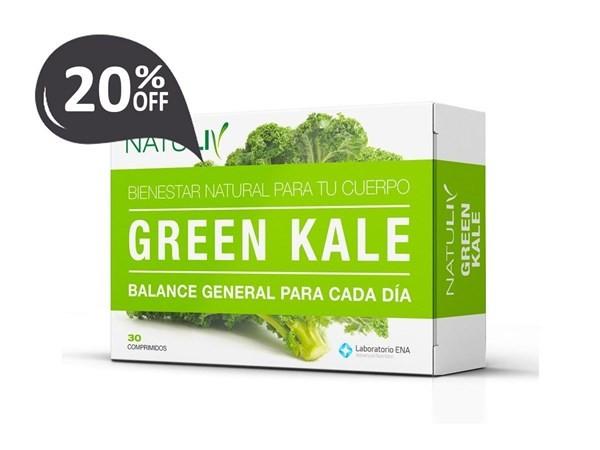 Natuliv Green Kale X30caps Cuidado Diario