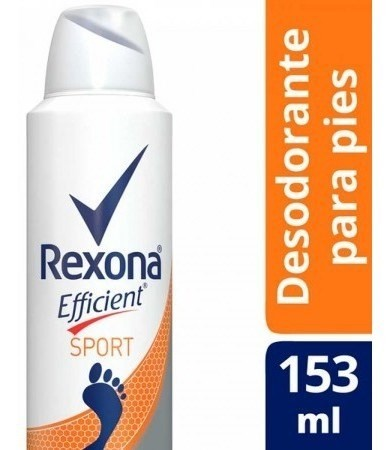 Desdorante Rexona Efficient Sport Pies 153ml
