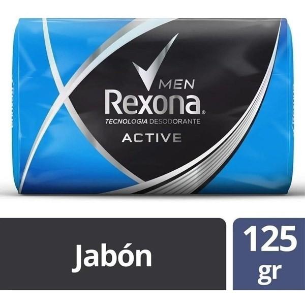 Jabón Rexona Active X125g