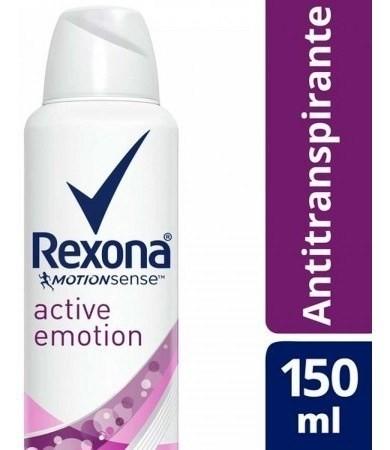 Desodorante Rexona Antitranspirante Active Emotion 150ml