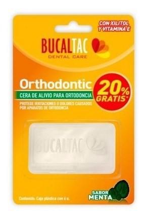 Cera Para Ortodoncia Sabor Menta Bucal Tac