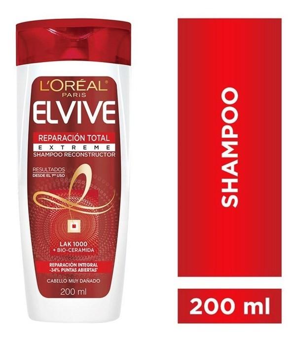 Shampoo Reparación Total Extreme Elvive L´oréal Paris 200ml