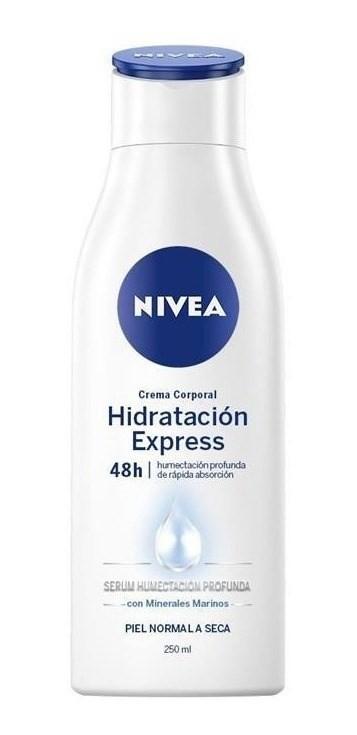 Nivea Crema Hidratación Express X 250 Ml