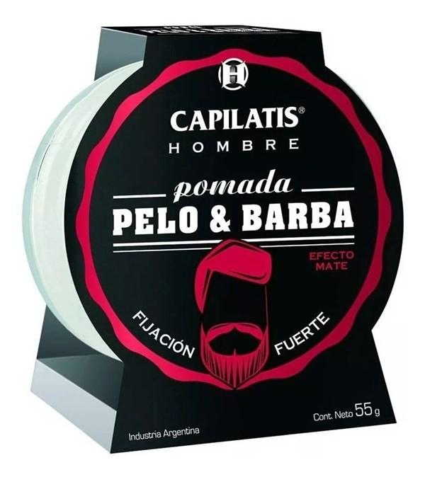 Pomada Pelo & Barba Capilatis X 55 Gr