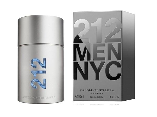 Perfume Hombre Carolina Herrera 212 Men  Edt 50ml #1