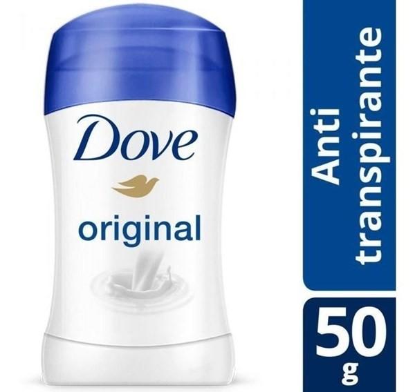 Desodorante Dove Antitranspirante Original En Barra 50g
