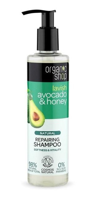 Organic Shop Shampoo Reparador Palta Orgánica