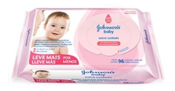 Johnson's Baby Toallitas Húmedas Extra Cuidado 96 Unidades #1