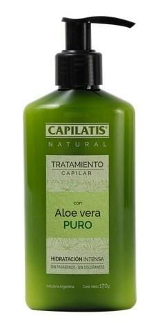 Capilatis Tratamiento Capilar Aloe Vera X 170 Gr