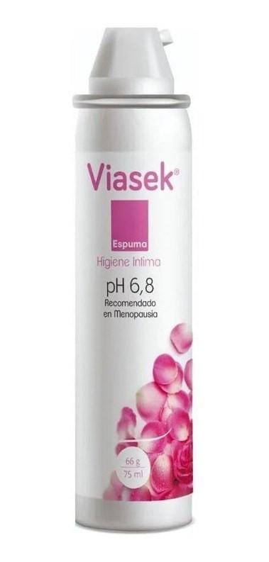 Viasek Espuma De Higiene Íntima Ph 6,8 De 75ml