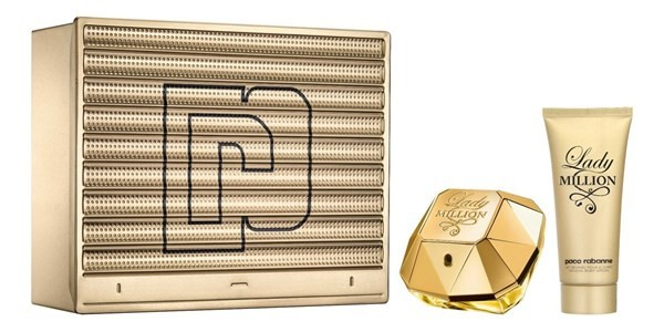 Paco Rabanne Lady Million Edp 80ml + Body Lotion