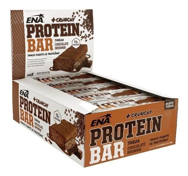 Protein Bar Chocolate Brownie Caja X 16