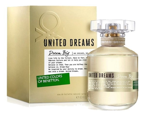 Perfume Mujer United Dreams Big Benetton Edt 80ml