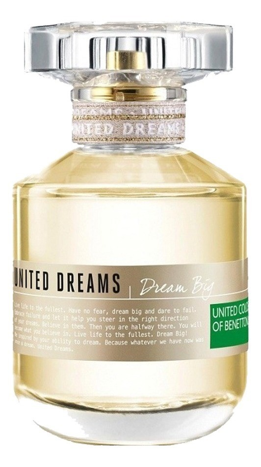 Perfume Mujer United Dreams Big Benetton Edt 80ml  alt