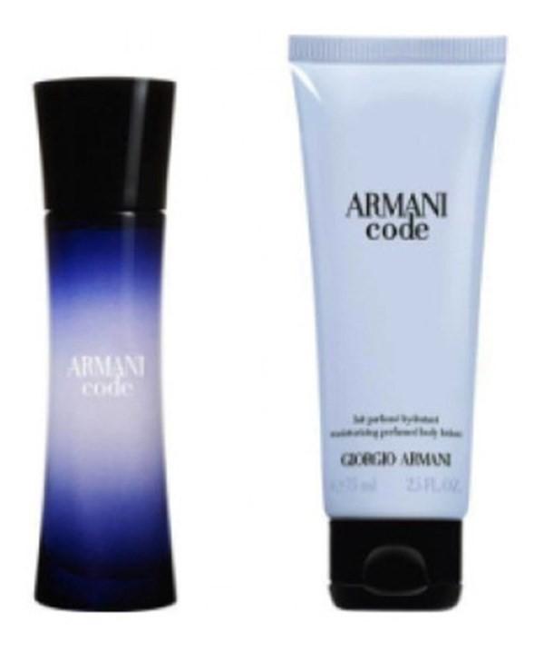 Perfume Mujer Armani Code Edp 30ml + Body Lotion 75ml
