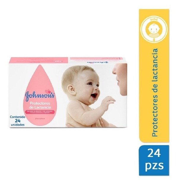 Johnson's Protectores Mamarios X 24 Un.