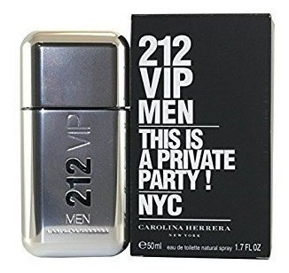 Perfume 212 Vip Men 50ml Carolina Herrera