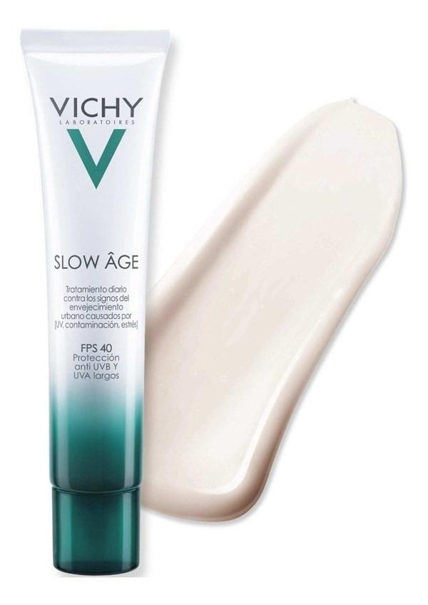 Vichy Slow Age Fluido Diario Con Fps 40 Para Retrasar El Env