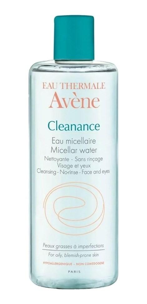 Avene Cleanance Agua Micelar Pieles Con Acne 400ml